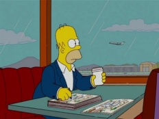 The Simpsons 19x01 : He Loves to Fly and He D'ohs- Seriesaddict